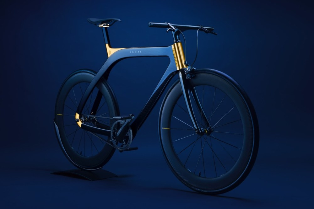 extans design studio blue carbon fiber bicycle 24 karat gold trim official release date info photos price store list buying guide
