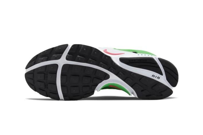 Nike Air Presto Black/White/Green Release Info DJ5143-001 release information