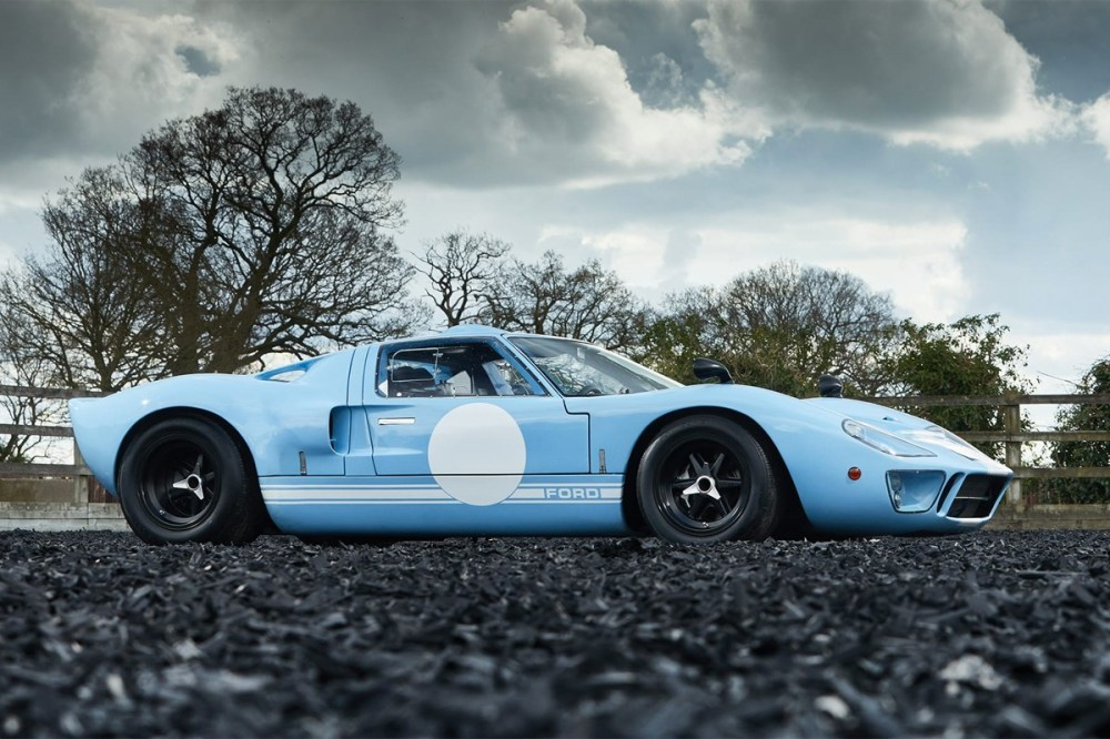 gooding company 1969 ford gt40 race car last production produced model unit