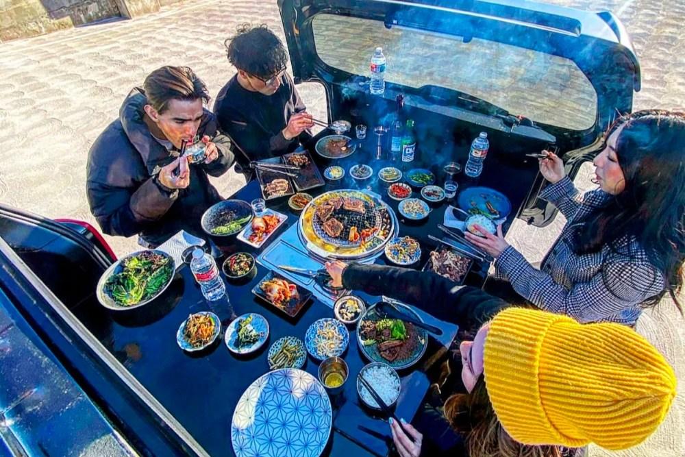 The Korean BBQ Car Chef Chris Oh Info