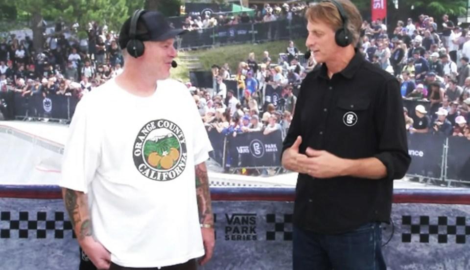 Jeff Grosso Tony Hawk Chop It Up After The Vans Park