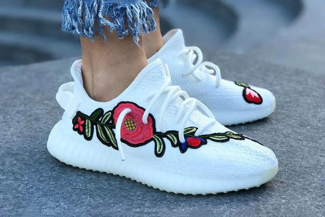 Yeezy Cream White Custom Gucci | yeezy