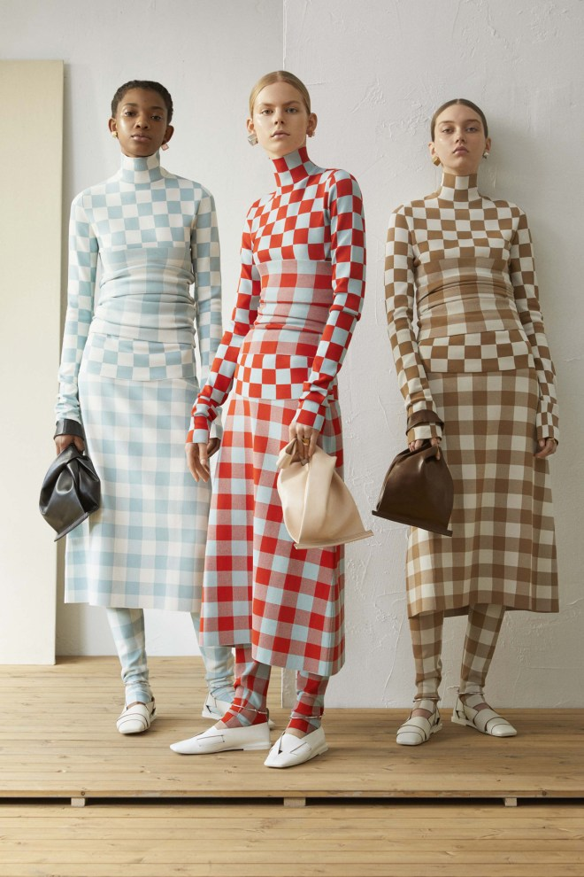 knitGrandeur: Checkered Past- Jil Sander Resort 2019