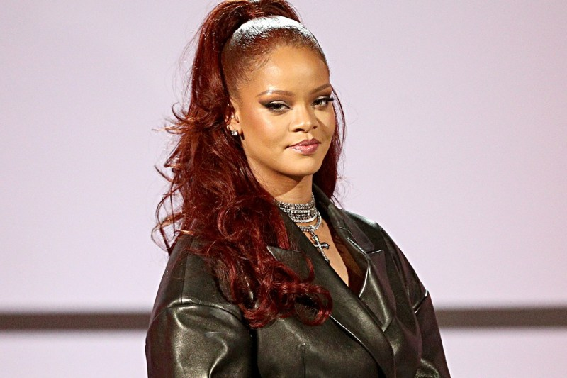 red hair color trend long &