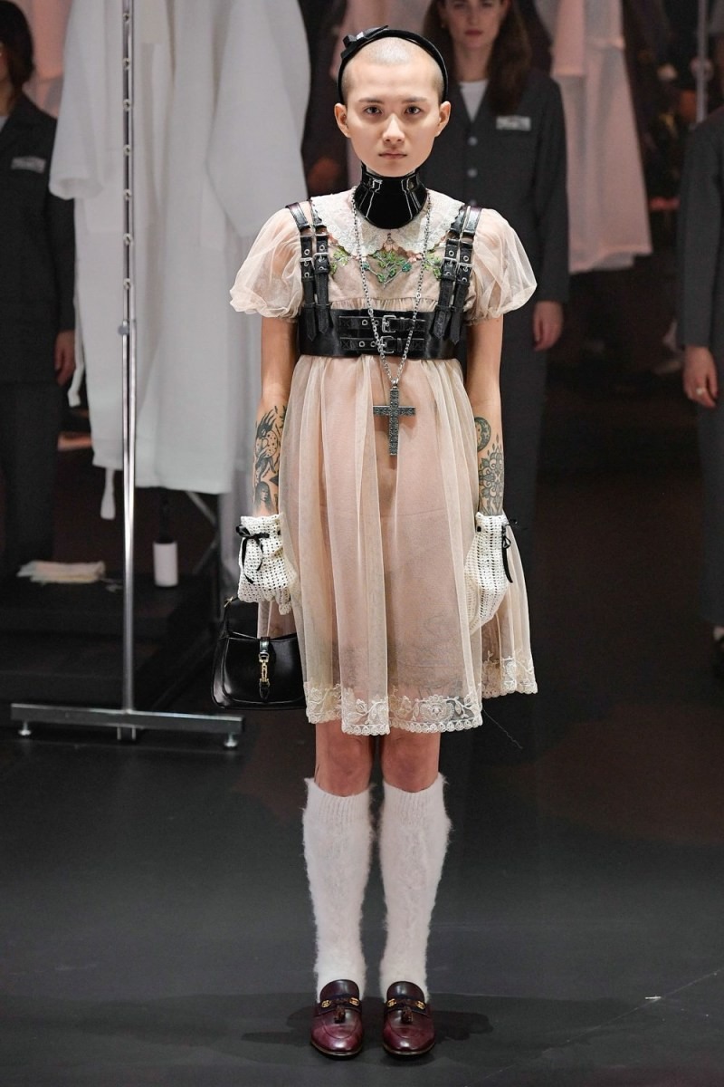 See Every Look From Gucci S Fw20 Runway Show Mfw Hypebae