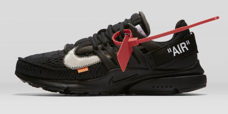 Virgil Abloh x Nike「The Ten」Air Presto 2.0 黑色鞋款香港 Nike 官方抽籤渠道釋出   HYPEBEAST
