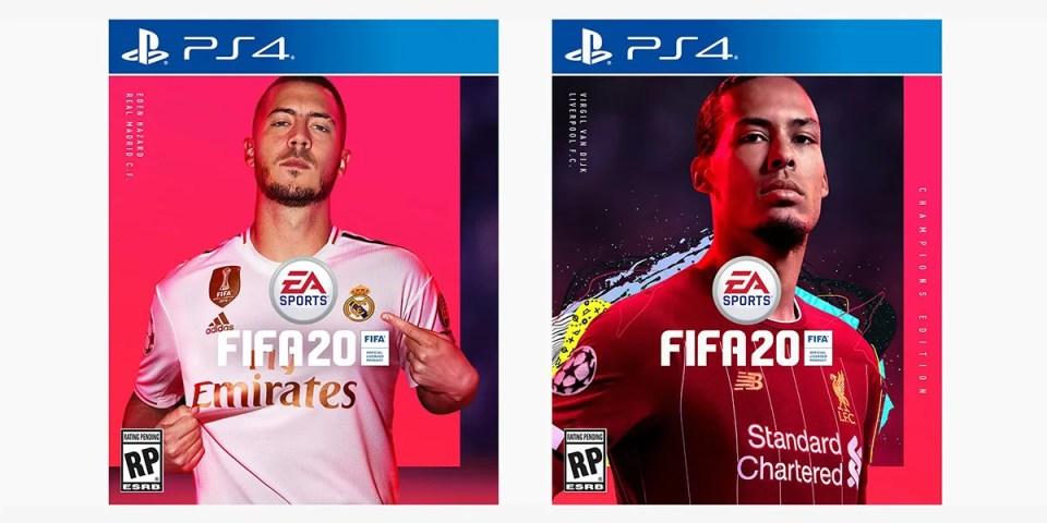 EA Sports 正式揭曉《FIFA 20》封面球星 | HYPEBEAST