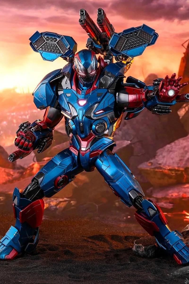 Hot Toys 推出 1:6《Avengers:Endgame》Iron Patriot「鋼鐵愛國者」珍藏人偶   HYPEBEAST