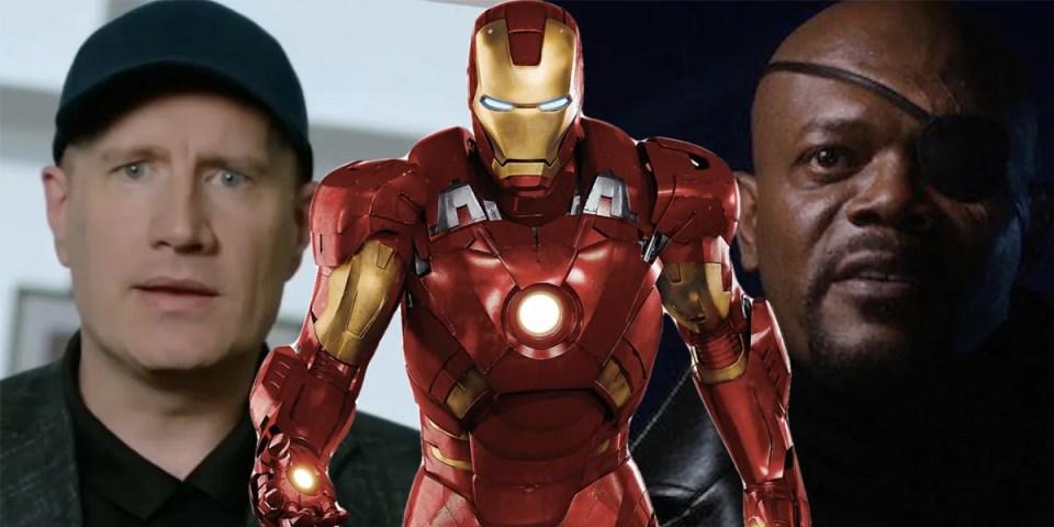 Marvel Studios 總裁 Kevin Feige 曝光《Iron Man》從未發佈的片尾畫面   HYPEBEAST