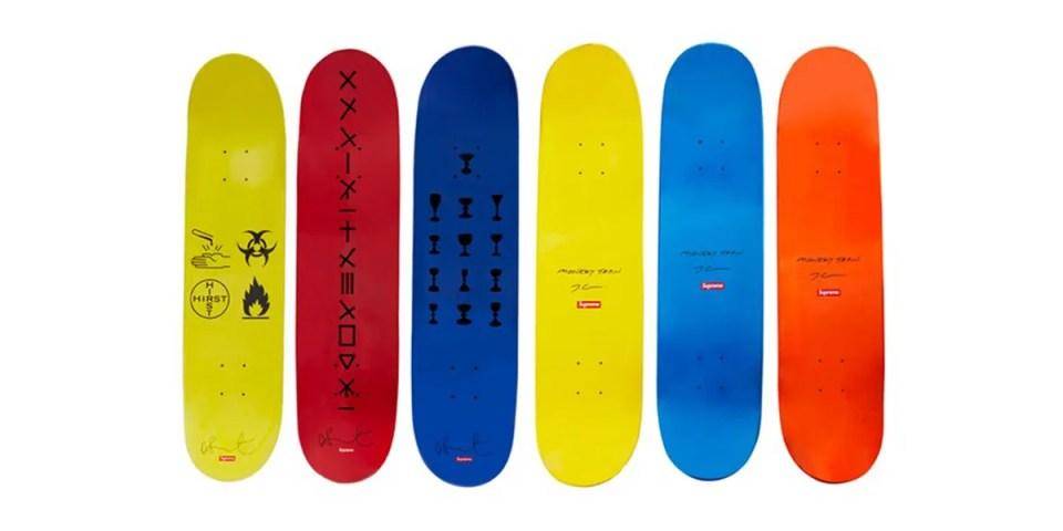 Supreme 極罕藝術家聯乘滑板板身系列突襲販售中   HYPEBEAST