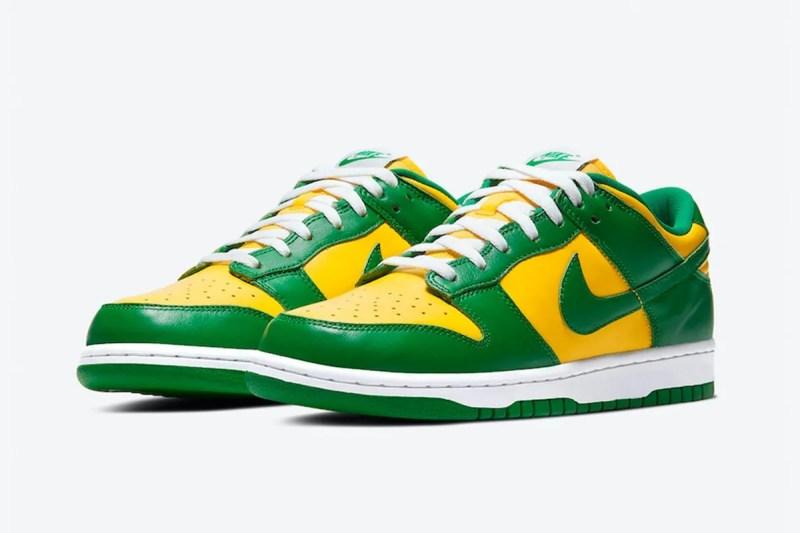Nike Dunk Low SP「Brazil」配色鞋款香港區抽籤情報公開 | HYPEBEAST