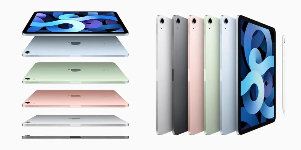 Apple 發佈會-全新 iPad Air 正式推出五款華麗配色與打造新型態 Touch ID 功能 | HYPEBEAST