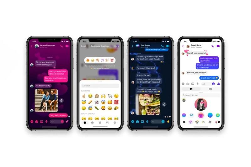 Facebook Messenger 正式實裝全新升級更新版本   HYPEBEAST