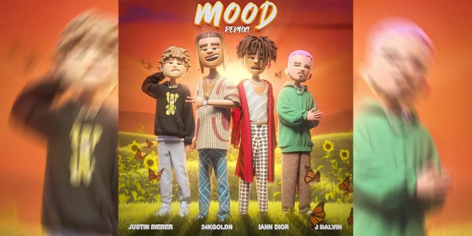 24kGoldn Mood Remix feat Justin Bieber. J Balvin   HYPEBEAST