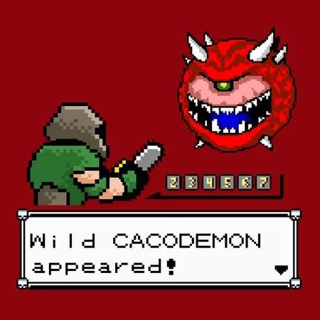 a wild cacodemon