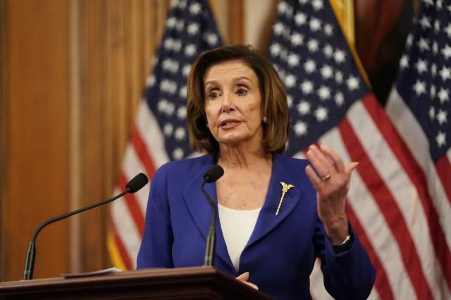 GP: Coronavirus stimulus vote Nancy Pelosi