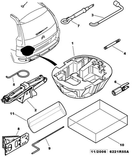 Comment ouvrir la trappe d'accés à la niche du kit de