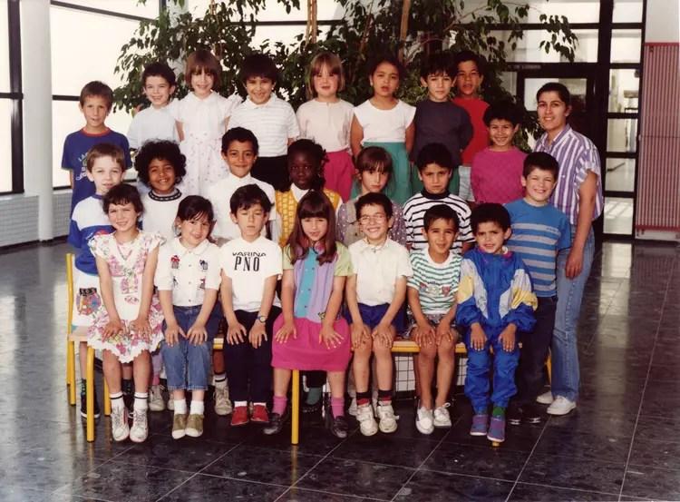 Photo de classe CP de 1990 Ecole Lorme Au Chat  Copains davant