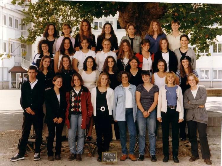 Photo de classe 1 re SMS2 _ St Louis Lorient de 1997 Lyce Saintlouis  Copains davant