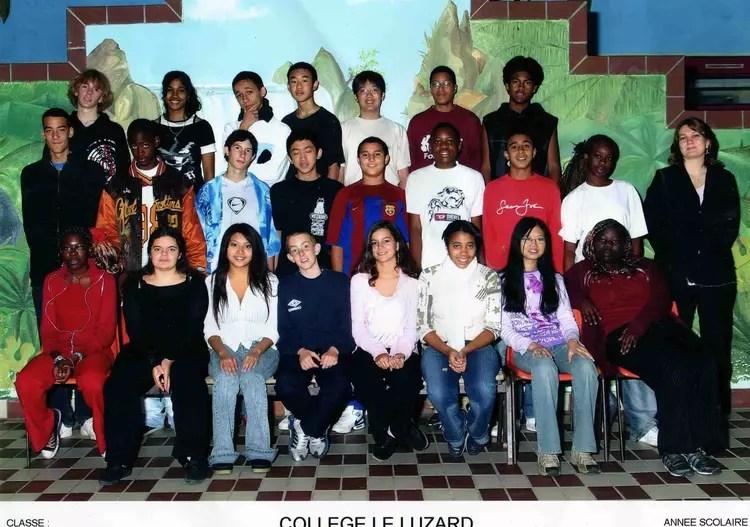 Photo de classe 41 de 2005 College Du Luzard  Copains davant