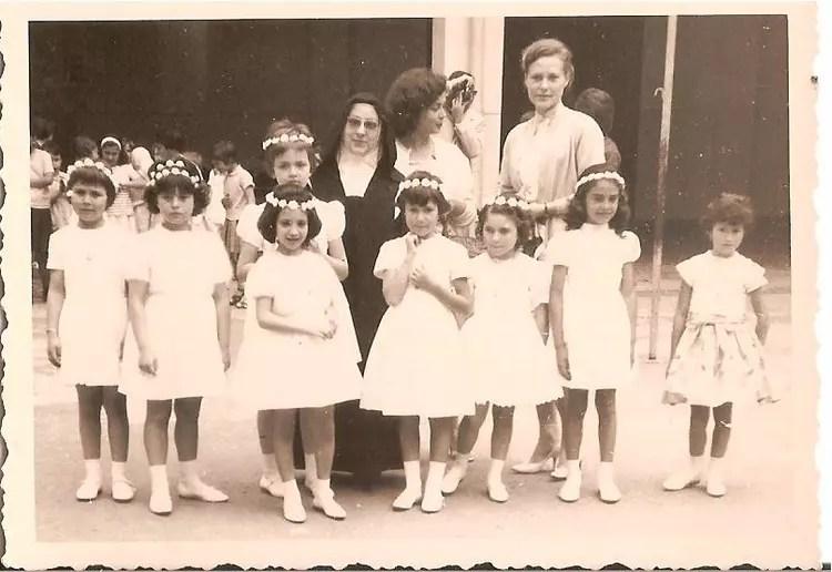 Photo de classe Communion prive de 1962 CARMEL ST JOSEPH  Copains davant