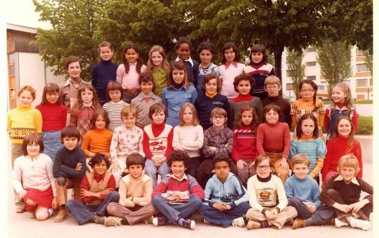 Photo de classe CE2 de 1978 ECOLE JEAN JAURES  Copains davant