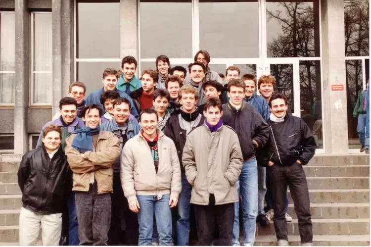 photo de classe iut informatique 1ere