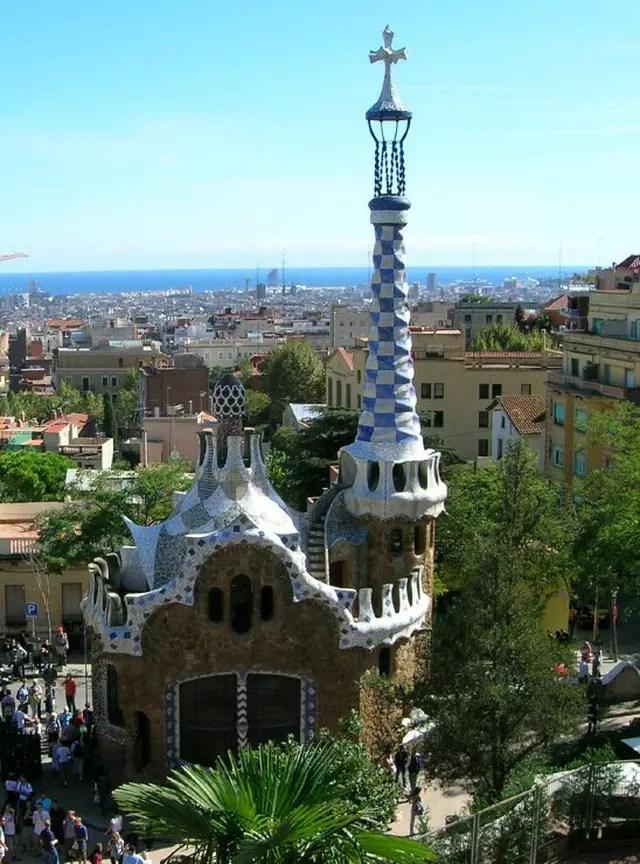 Parc Gell Barcelone par guy duchesne sur LInternaute
