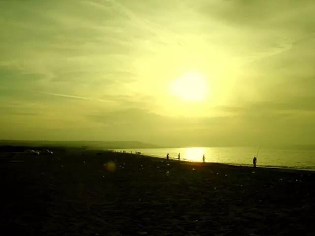 Soleil couchant à zeralda