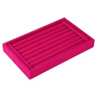 Velvet Jewelry Ring Earring Display Organizer Box Tray ...