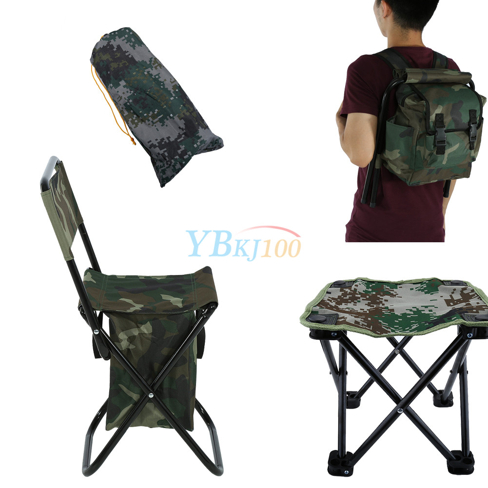 Folding Chair Backpack Details About 2 In 1 Folding Fishing Stool Backpack Seat Chair Hunting Tear Resistance Bag Sa