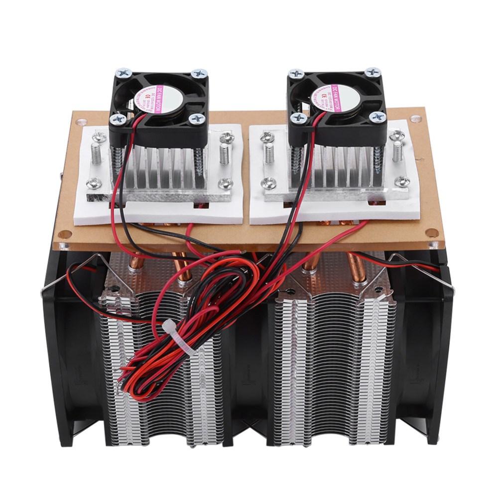 medium resolution of 12v 144w peltier semiconductor refrigeration air conditioner fridge cooler fan