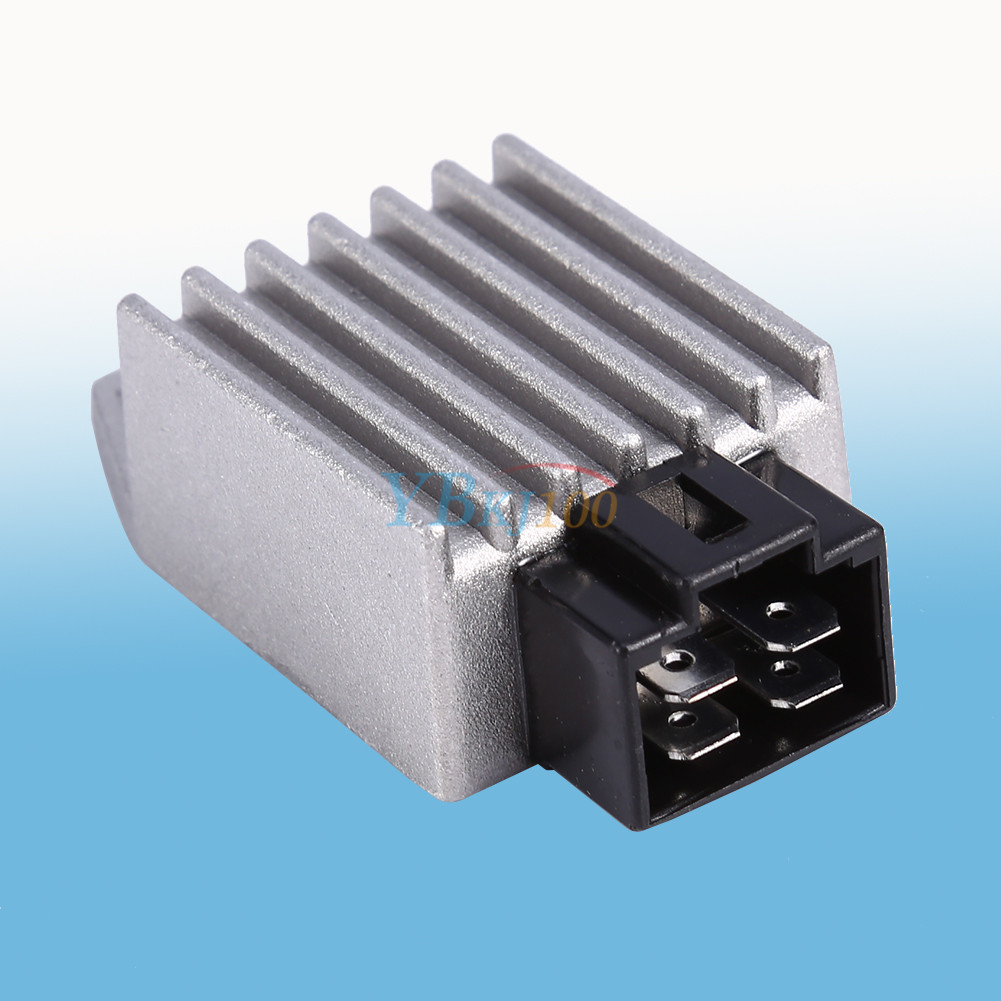hight resolution of details about universal gy6 motorcycle bike atv 12v voltage regulator rectifier 4 pin ap