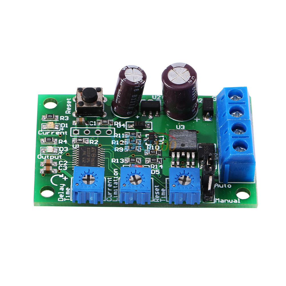 Overvoltage Protection Circuit With Reverse Voltage Protection