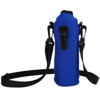 Insulated Neoprene Water Bottle Carrier Holder Bag