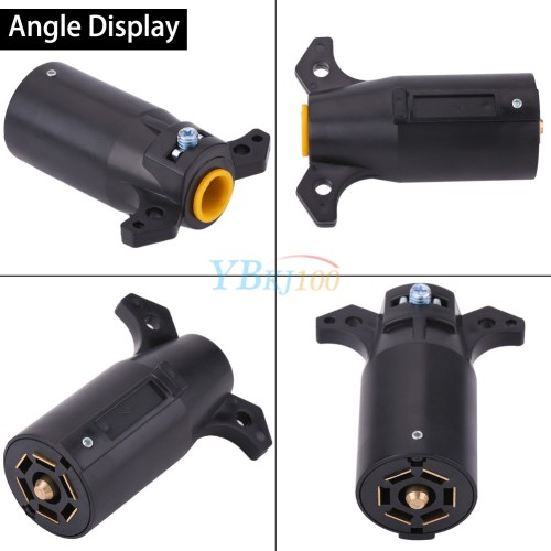 small resolution of product description description this american style 7 pin trailer adapter