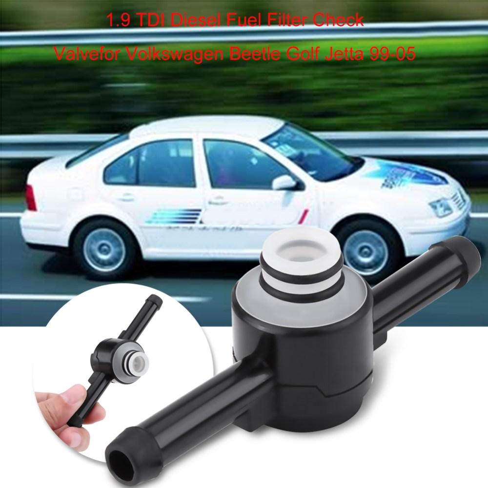 medium resolution of car 1 9 tdi car diesel fuel filter check valve for vw beetle golf jetta