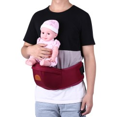 Baby Chair Carrier Layout Design Hipseat Sit Waist Belt Holder Infant Toddler Front Hip Seat