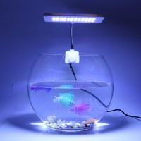 220V 48 LEDs Aquarium Clamp Clip Lamp Light Fish Tank
