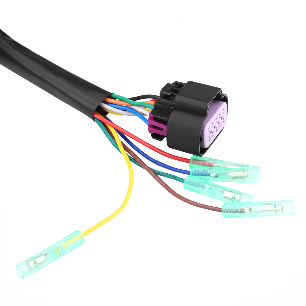 hight resolution of side mount remote control 14 pin 15ft wire harness 881170a13 for 80 mercury outboard control wiring 14 pin mercury control box wiring