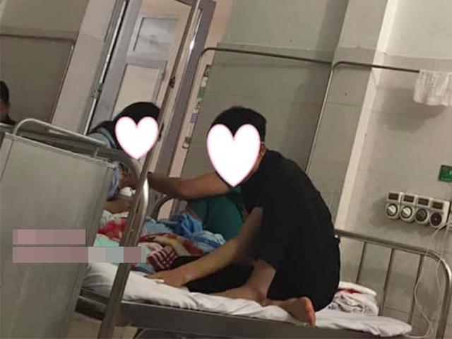 Khoảnh khắc đỏ mặt của chồng trẻ trong phòng phụ sản khiến dân mạng tranh cãi kịch liệt