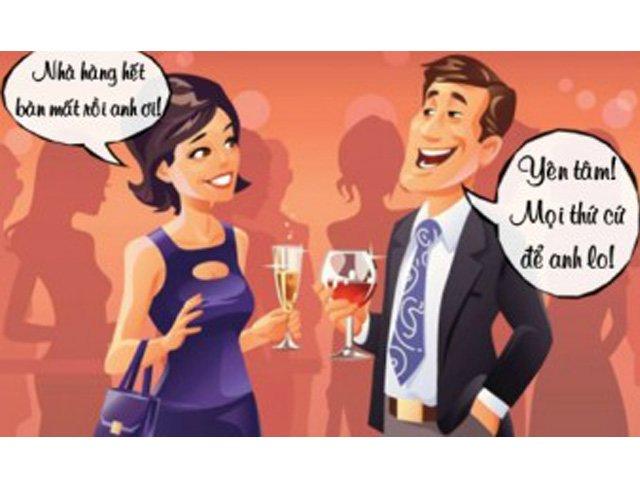 Truyện cười hay: Đi hâm nóng Valentine thì hết bàn, chồng hét một câu cả 10 người đứng dậy