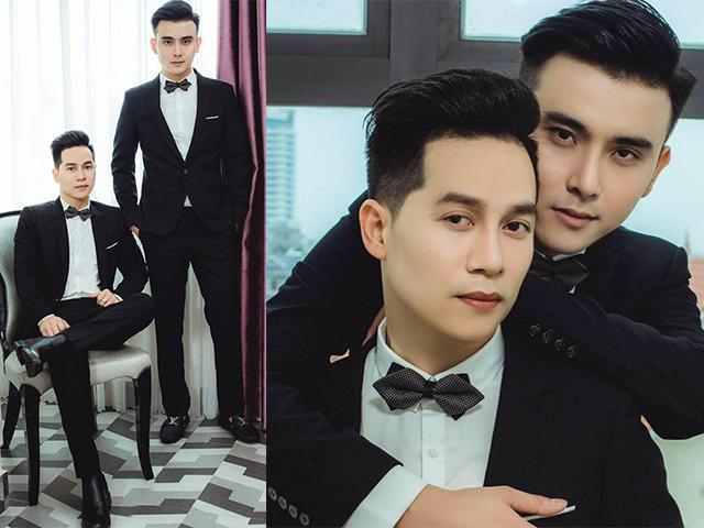 Dân tình xôn xao với đám cưới đồng tính đầu tiên tại Hải Phòng của cặp đôi siêu điển trai