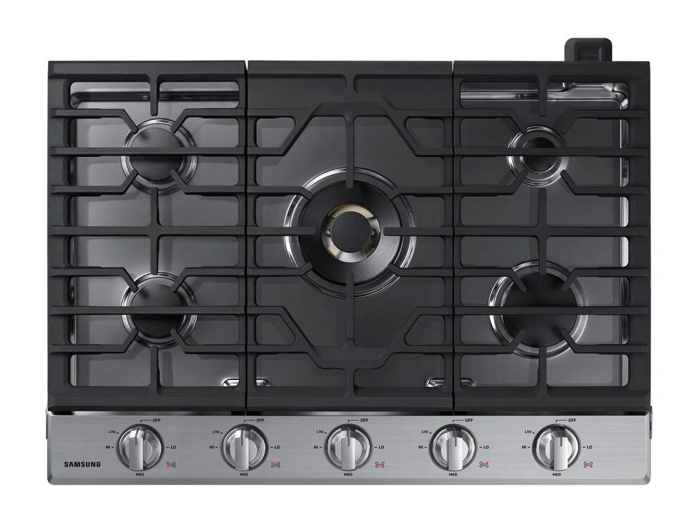 medium resolution of 30 gas cooktop with 22k btu true dual power burner 2018 ranges na30n7755ts aa samsung us