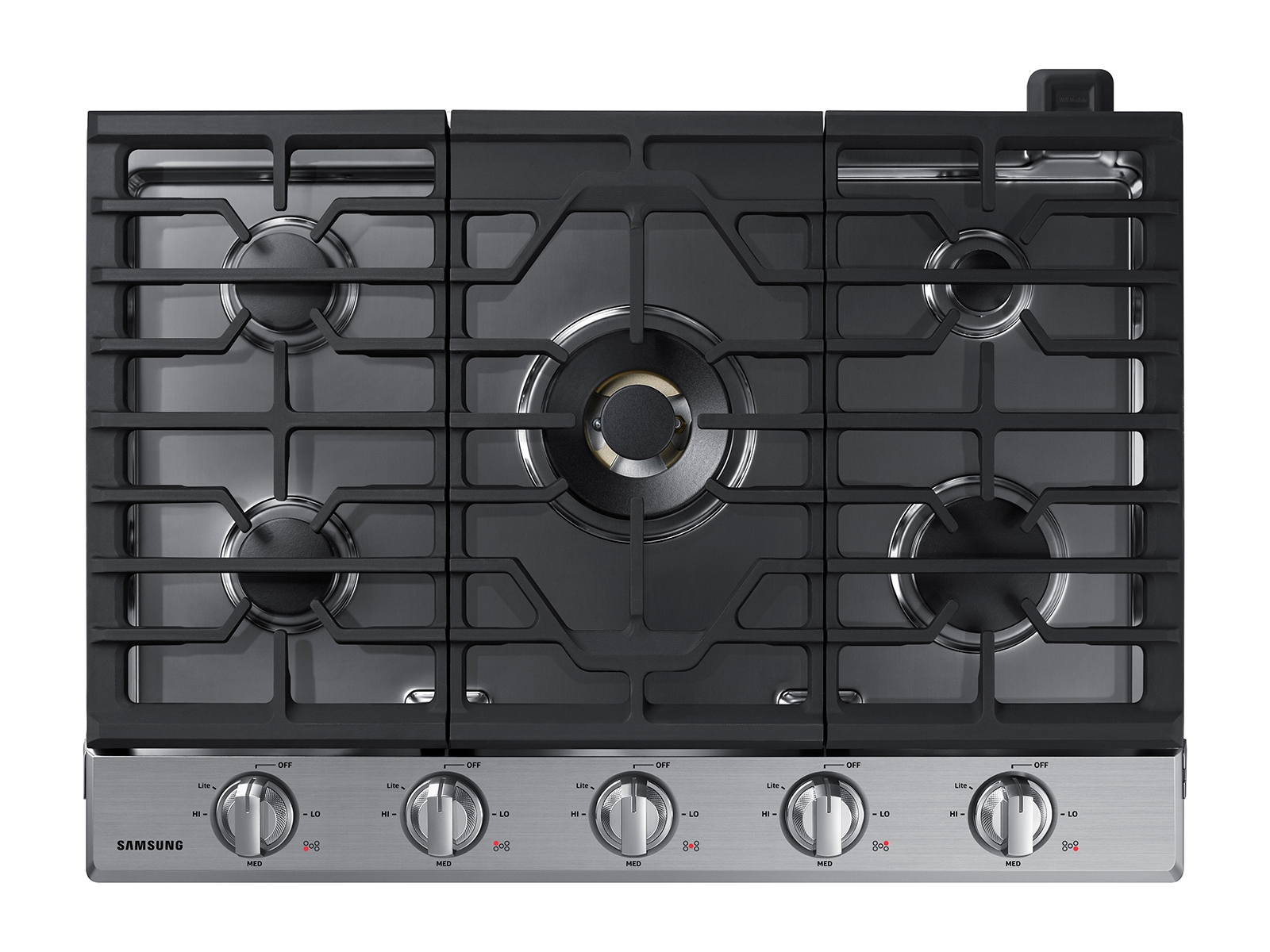 hight resolution of 30 gas cooktop with 22k btu true dual power burner 2018 ranges na30n7755ts aa samsung us