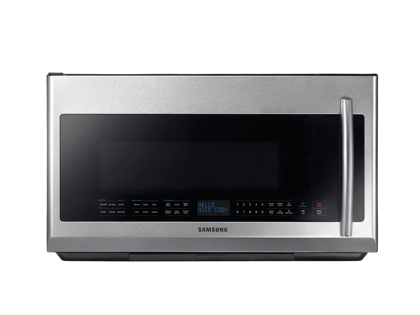 2 1 cu ft over the range microwave with sensor cooking in fingerprint resistant stainless steel