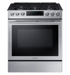 slide in gas range with fan convection ranges nx58m9420ss aa samsung us [ 4500 x 3000 Pixel ]
