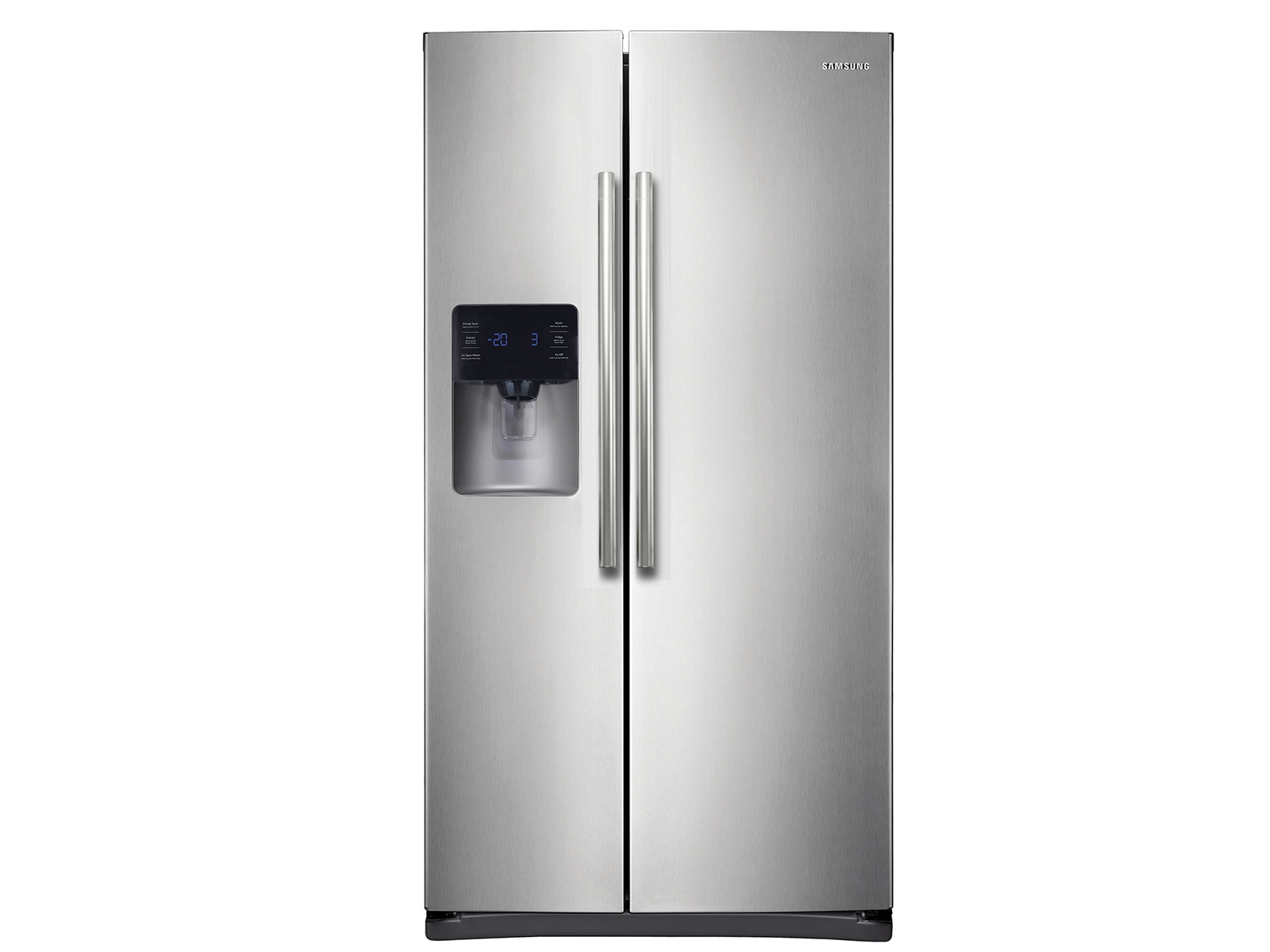 side by side refrigerator with in door ice maker refrigerators rs25h5111sr aa samsung us [ 1600 x 1200 Pixel ]