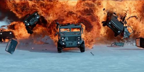 """Fast 8 lộ cảnh """"tra tấn"""" siêu xe hút triệu lượt xem - 2"""