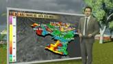 Dự báo thời tiết VTV 12/8: Mưa lớn tiếp tục trút xuống miền Bắc